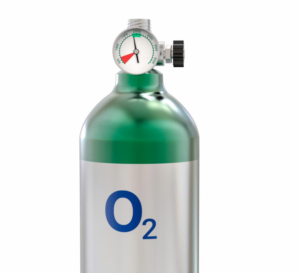 Botella inteligente, el oxígeno seguro