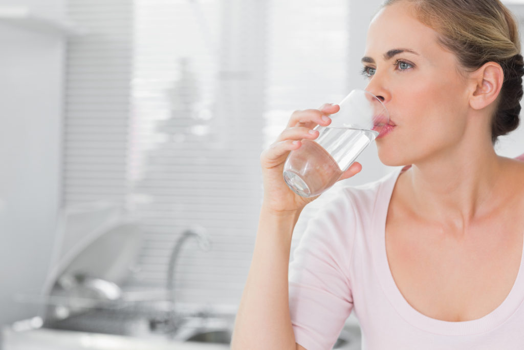 ¿Bebes suficiente agua?