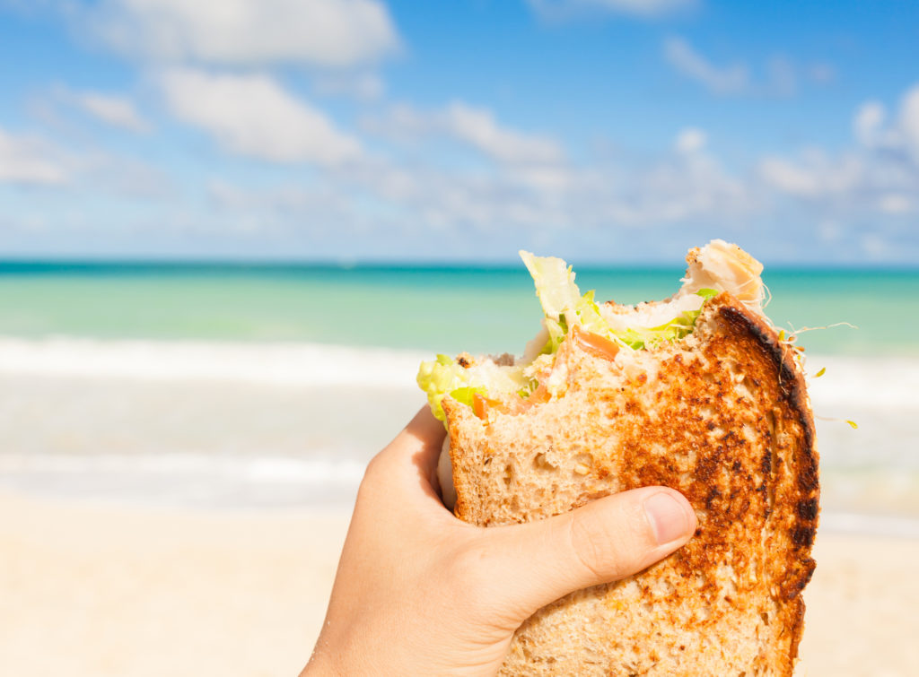 Comidas sencillas para ir a la playa