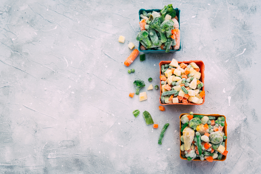 7 Alimentos sanos y procesados