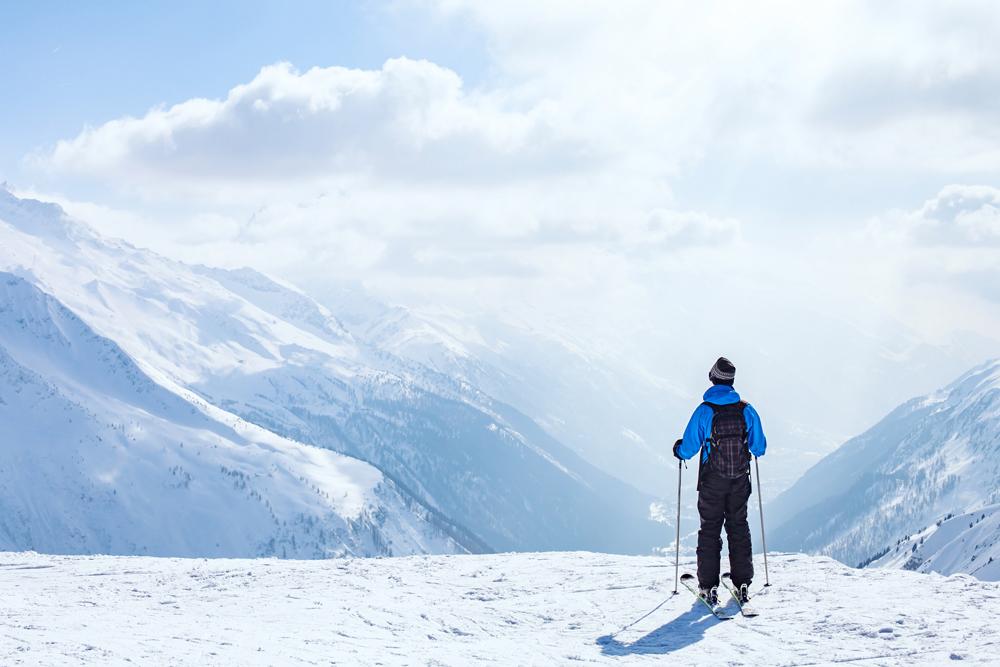 Esquiar, aventura en la nieve