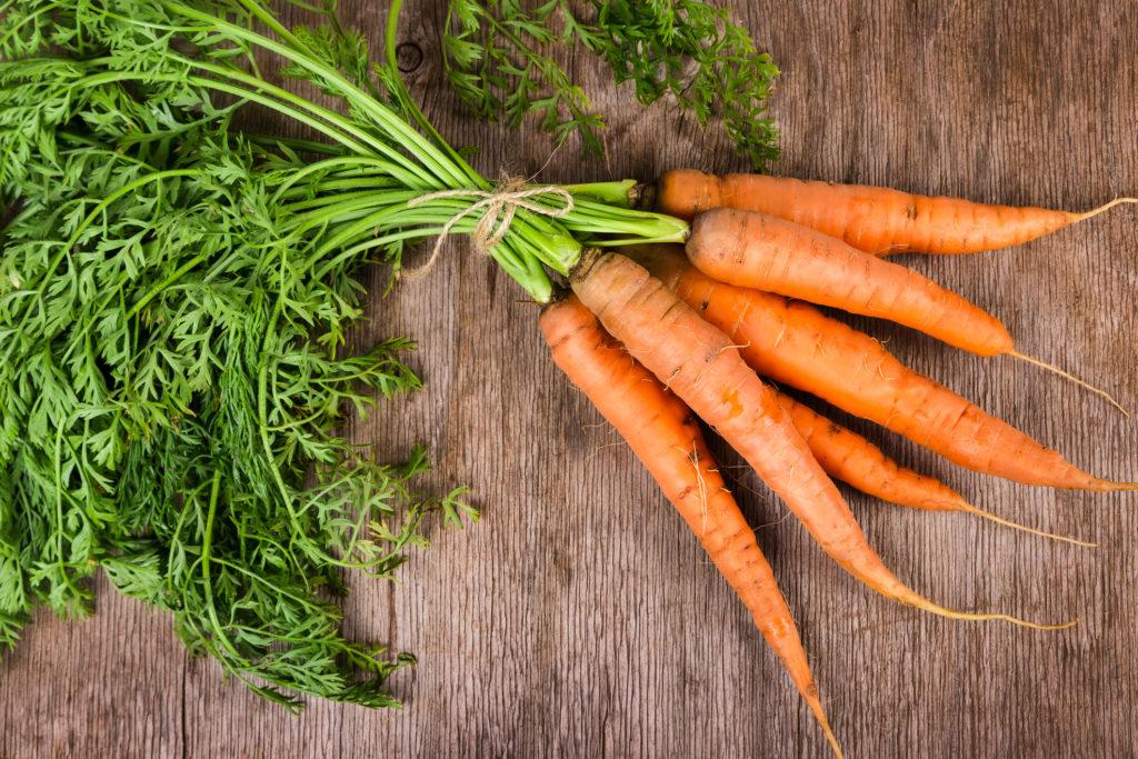 Vegetales con betacarotenos