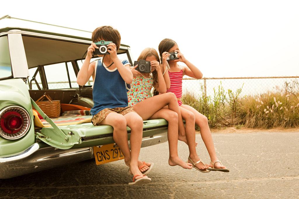 Viajar seguros en coche con niños