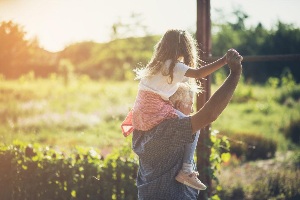 El valor de convivir y compartir con los abuelos