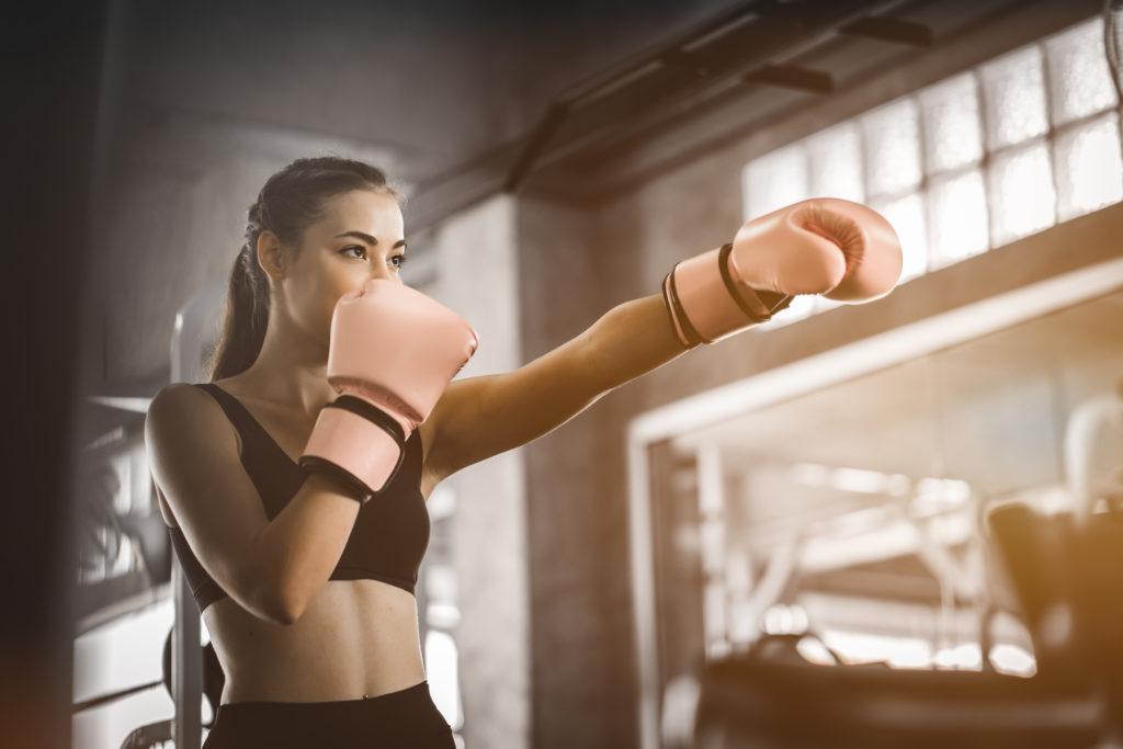 Practica boxeo y libera tensiones